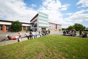 Campusgelände der Berufsakademie Riesa