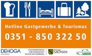 Grafik DEHOGA Hotline Gastgewerbe &Tourismus