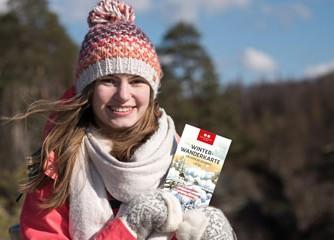 Sächsische Schweiz: Winter-Wanderkarte neu aufgelegt