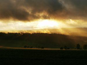 Sonnenuntergang Landwüst