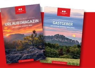 Sächsische Schweiz: Broschüren 2021 erschienen