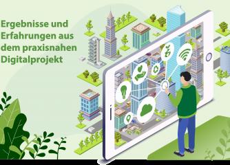ZukunftSchmiede Live am 11.05.2021 zu den Ergebnissen und Erfahrungen aus dem praxisnahen Digitalprojekt