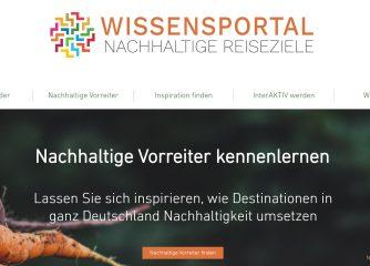 Wissensportal Nachhaltige Reiseziele: Neue Online-Plattform gestartet