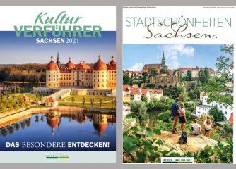 Neue Magazine werben für Sachsens Kultur und Stadtschönheiten