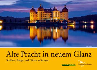 Neue Imagebroschüre im Schlösserland Sachsen erschienen