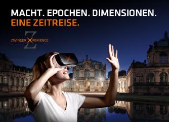 """""""Zwinger Xperience – Macht. Epochen. Dimensionen. Eine Zeitreise"""" – Ausstellungserlebnis im Dresdener Zwinger eröffnet"""