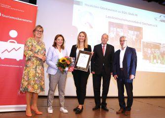 Service par excellence: LTV SACHSEN erreicht ServiceQualität Deutschland Stufe III