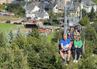 Programm Neustart Tourismus: Förderbescheide an Ski-Gebiete in Schöneck und Eibenstock übergeben