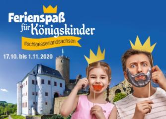 Ferienspaß für Königskinder im Schlösserland Sachsen